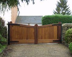 good wooden gate