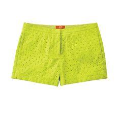 Bright, sassy shorts -- a must for summer! Joe Fresh Cotton Shorts #shorts __ want these!!