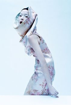 Xiao Wen Ju for UK Vogue March 2015