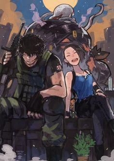 Resident Evil Nemesis, Resident Evil Franchise, Resident Evil 3 Remake, Resident Evil Game, Evil Games, Evil Anime, Evil Art, Jill Valentine, Game Character