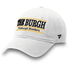 Denver Broncos NFL Pro Line by Fanatics Branded Broncos Country Nickname  Bar Adjustable Hat - White 3def6f2bb3a7