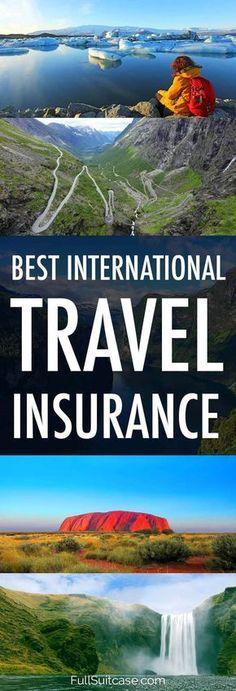 How to find the best international travel insurance 12 best travel insurance companies for 2020 International Travel Insurance, Best Travel Insurance, Health Insurance, Car Insurance, Travel Deals, Travel Guides, Travel Destinations, Vacation Deals, Travel Rewards