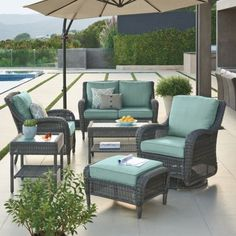 Love This Patio Set Outdoor Furniture