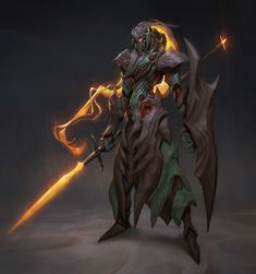 The Fallen knight, Hui Zou on ArtStation at https://www.artstation.com/artwork/rQAPG