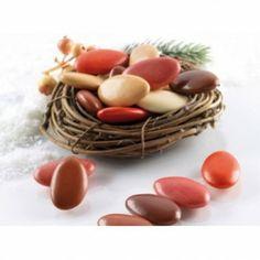 Per un matrimonio dai colori caldi: Confetti Buratti al cioccolato