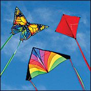 Love flying kites out on the boat.  My daughter just got the butterfly kite for Easter.  Sweet.
