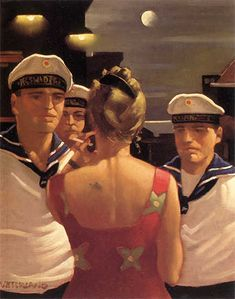Jack Vettriano Sailor Boys oil painting for sale Jack Vettriano, Art Paintings For Sale, Oil Painting For Sale, Painting Art, The Singing Butler, Michael Carter, Pin Up, Sailors, Job 1