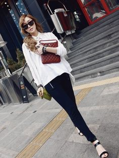 jessica jung: off duty/casual chic