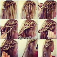 how to do braid step by step