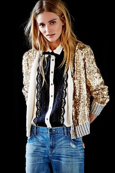 Free People Look cool and casual in black and white. Add a touch of lace and a splash of sparkle for an unexpected romantic twi. Look Fashion, Winter Fashion, Womens Fashion, Fashion Brand, Fashion Boots, Mode Style, Style Me, Funky Style, Bohemian Style