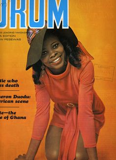 Drum - 1969 Magazine from Ghana – Voices of East Anglia Drum Magazine, Jet Magazine, Black Magazine, Vintage Drums, Vintage Ads, Vintage Posters, Vintage Prints, Ebony Magazine Cover, Magazine Covers