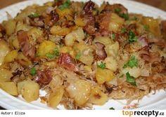 Myslíme si, že by sa vám mohli páčiť tieto piny - Top Recipes, Potato Recipes, Cooking Recipes, Healthy Recipes, Slovak Recipes, Czech Recipes, Salty Foods, Food 52, Main Meals