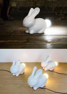 Bunny lights ~ <3!