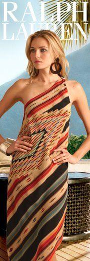 Dress of the Week from Ralph Lauren.  dressologyhq.blogspot.com