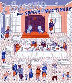 Reynard the Fox | Sophia Martineck | Illustration and design