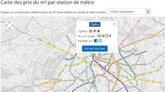 Le site immobilier MeilleursAgents a dressé une carte des prix au mètre carré de Paris selon les stations de métro. L'écart de prix entre le quartier le plus cher et le moins cher atteint 11.411 euros. Métro Invalides, le quartier le plus cher de Paris