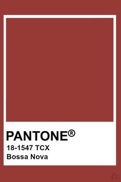 Pantone Bossa Nova Rouge Pantone, Pantone Tcx, Pantone 2020, Colour Pallette, Colour Schemes, Color Trends, Pantone Colour Palettes, Pantone Color, Pantone Number