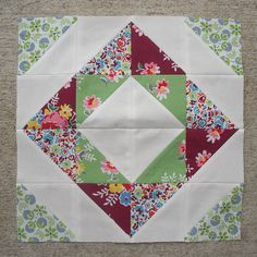 Someday I would love to have some time to do some quilting. This is something I would like to start with.