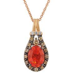 Le Vian Fire Opal Necklace i