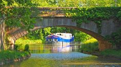 There are low bridges to pass under on the Canal du Midi. Picture: European Waterways