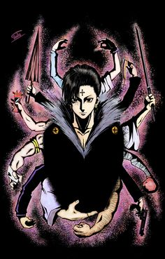HxH Chrollo/Kuroro Lucifer head and heart of the Genei Ryodan - Spider -