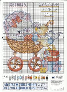 View album on Yandex. Cat Cross Stitches, Cross Stitch Baby, Cross Stitch Charts, Counted Cross Stitch Patterns, Cross Stitching, Cross Stitch Embroidery, Baby Chart, Cross Stitch Numbers, Gatos Cats