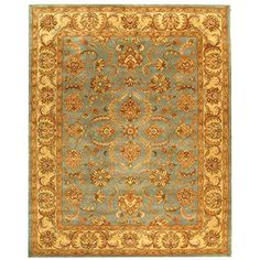 Safavieh Heritage Collection HG811B Handmade Blue and Beige Wool Area Rug, 8 feet by 10 feet (8' x 10') Safavieh http://www.amazon.com/dp/B00OHZ2NVS/ref=cm_sw_r_pi_dp_mh5wwb12PT3H1