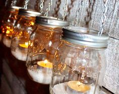 4 DIY Mason Jar Luminary Lantern Lids Garden by WaverlyHomeDesigns Mason Jar Meals, Meals In A Jar, Mason Jar Crafts, Mason Jar Diy, Mason Jar Lamp, Mason Jar Lanterns, Hanging Lanterns, Hanging Lights, Candle Jars