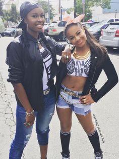 Nia and Cocoa Jones