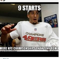 NFL+Memes | NFL fans using Colin Kaepernick's quick success with 49ers to mock ...