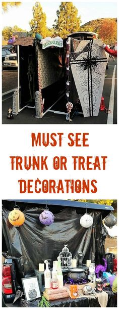 Several Creative Trunk or Treat Decorating Ideas
