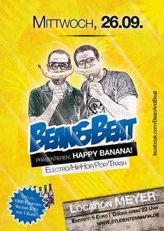 Happy Banana - Flyer