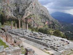 Delphi, Greece is a mystical place.  You know exactly why the ancient Greeks put their oracle there when you  visit.