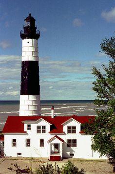 Big Sable Point Lighthouse, Mason County, Michigan ~ by Rick Lanting, via Flickr