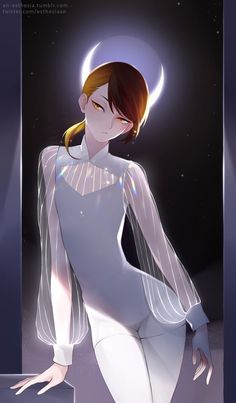Land of the Lustrous-- Rutile. I love the manga art here. Character Concept, Character Art, Character Design, Manga Art, Anime Art, Science Fiction, Awesome Anime, Anime Guys, I Love Anime