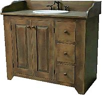Pic Of Cottage Style Bathroom Vanity s
