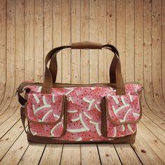 Maleta pequeña de viaje, color estampado sandias Suitcase