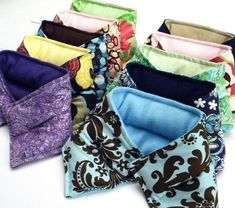 Ten Hot Cold Pack Neck Wraps, Wholesale Microwave Heat Pads, Large Quantity Heat Packs for Gifts, Resale, Events