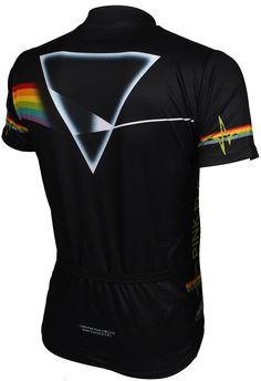 Back View of the Pink Floyd Dark Side of the Moon Cycling Jersey at  CycleGarb. 953a041b8