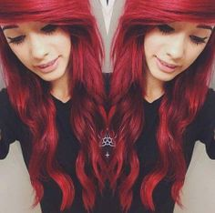 I always wanted red hair but will never pull it off hahaha