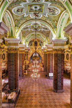 Peter and Paul Cathedral at Saint Petersburg,Russia. Peter And Paul Cathedral, St Peter And Paul, St Petersburg Russia, Saint Petersburg, Church Interior, Cathedral Church, Building A Website, Barcelona Cathedral, Beautiful Places