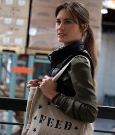 2013 Honoree Lauren Bush Lauren's iconic FEED bag has been reimagined for different initiatives across the globe—most recently for the FEED USA + Target collection.