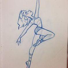 Dancer sketch #design #ballet #girlsketch #characterdesign #art #dancer #silhouette #cute