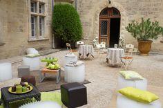 ONE DAY EVENT,  espace détente, château provençal