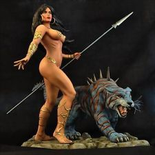 Delisle tiger resin model kit Ken Kelly collection 1/6 scale fantasy female sexy