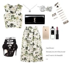 """""""Untitled #950"""" by alyssakate96 on Polyvore featuring Topshop, Alexander McQueen, Forever 21, Tiffany & Co., Yves Saint Laurent, Serge Lutens and NARS Cosmetics"""