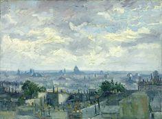 View of Paris, Van Gogh