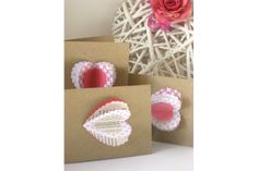 Pretty in Pink - Heart Card with envelope by Melrose & Co on hellopretty.co.za