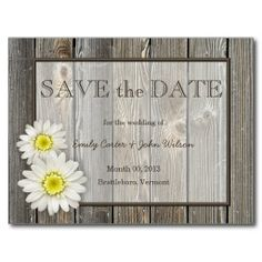 Rustic Country Horse Shoes Save the Date Postcard | Great deals ...