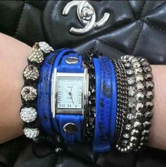 Electric Blue Snake Layer.